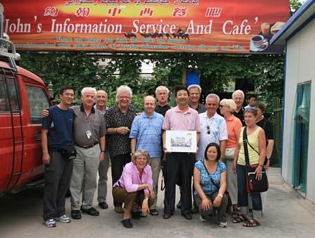 Gruppenfoto Mitgliederreise DCG 2008