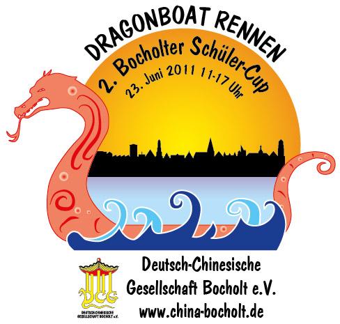 Dragonboat-Schülercup Bocholt Logo